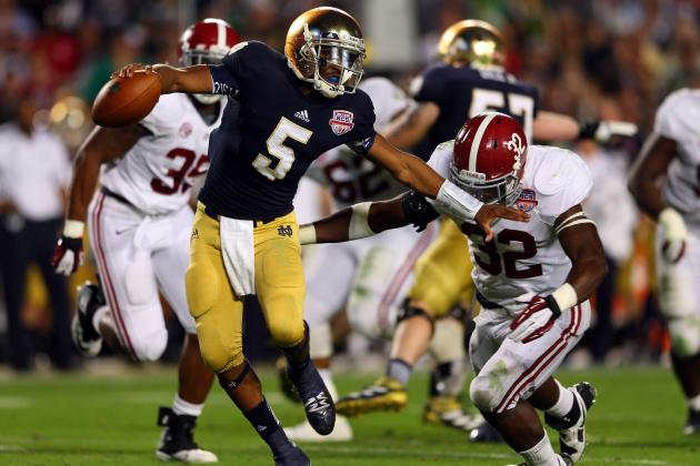 Breaking Down Notre Dame's Tumultuous BCS Era at the Quarterback Position