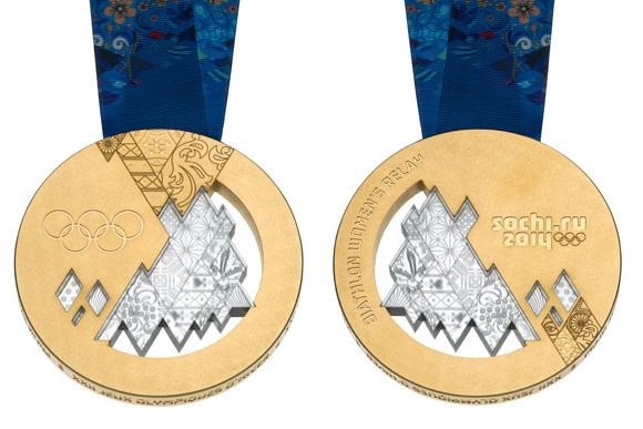 IOC Unveils Medals for 2014 Sochi Winter Olympics