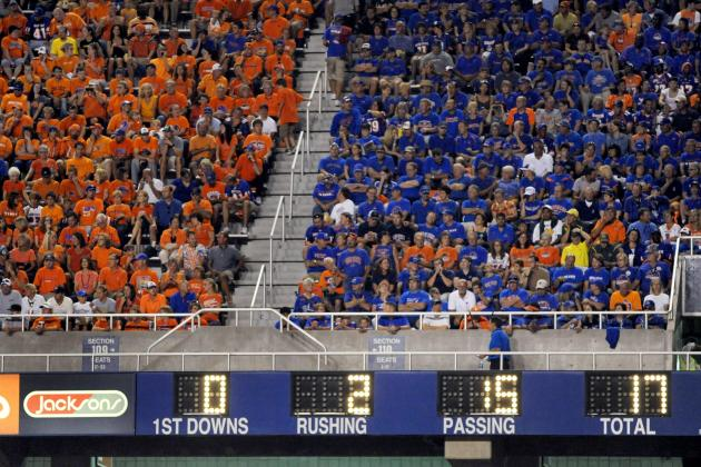 Decision Time Coming for Bronco Stadium Scoreboard