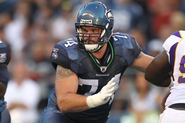 Seahawks OL Moffitt in Trouble for Alleged Public Urination