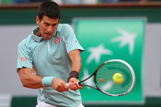 Novak Djokovic Defeats Guido Pella to Advance at 2013 French Open