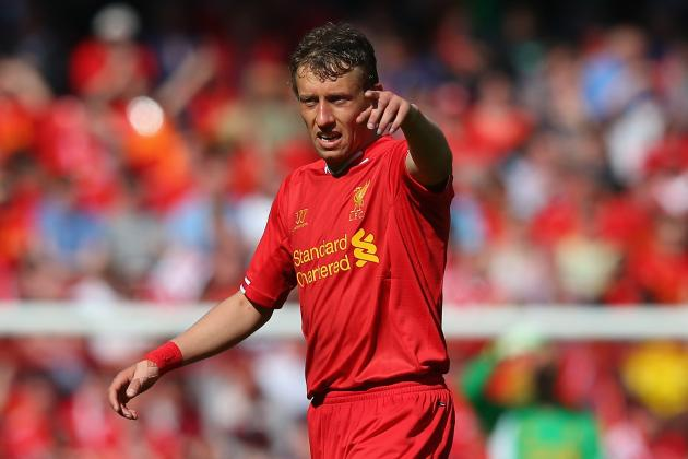 Premier League: Liverpool Midfielder Lucas Leiva Happy with Improvement