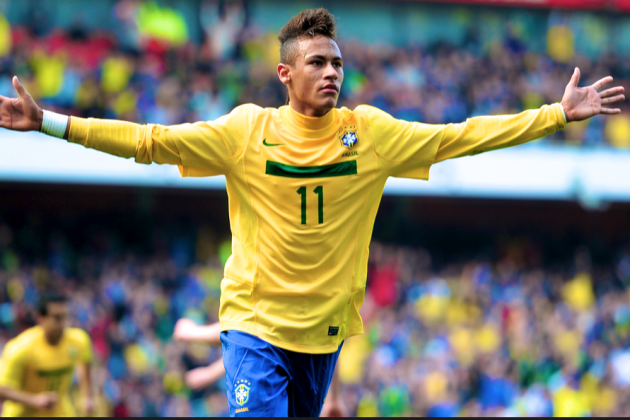 From Street Baller to Barcelona: Neymar's Career in Pictures and Videos
