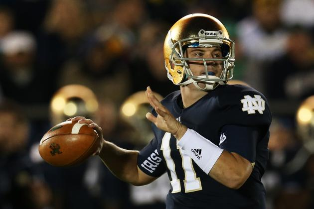 Notre Dame Football: Quarterback Battle Should Be Brian Kelly's Biggest Worry