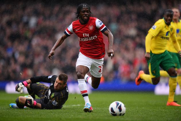 Ligue 1 Duo Interested in Bringing Arsenal's Gervinho Back to France