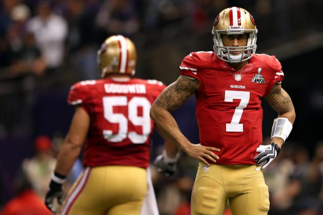 Will Colin Kaepernick Fall Victim to a 'Sophomore' Slump in 2013?