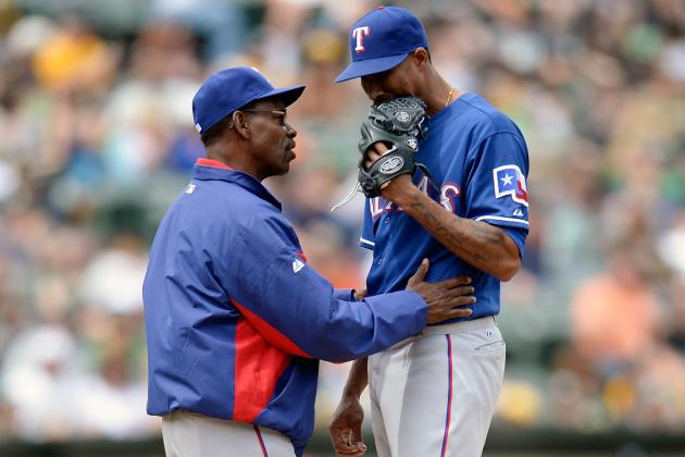Alexi Ogando Close to Rejoining Rangers' Rotation