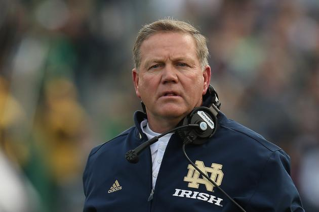 Notre Dame's Brian Kelly Has 'No Ill Will' Toward Michigan's Brady Hoke