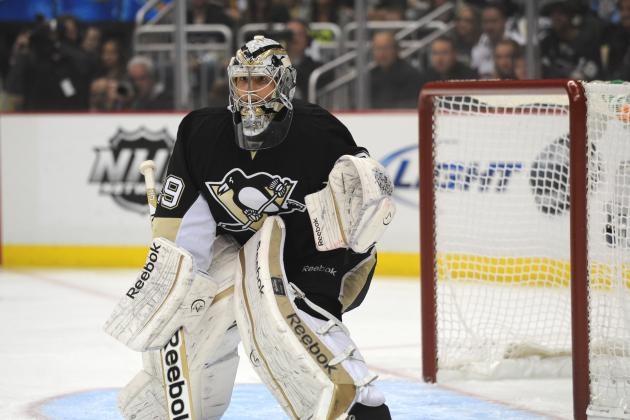 Penguins' Fleury Dodges Questions About Future