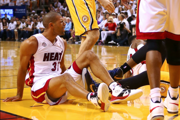 Pacers Players Accuse Heat's Shane Battier of Targeting Their Knees, Dirty Play