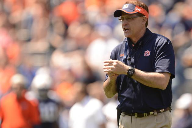 SEC Football Q&A: When Will Gus Malzahn Lead Auburn Back into Contention?