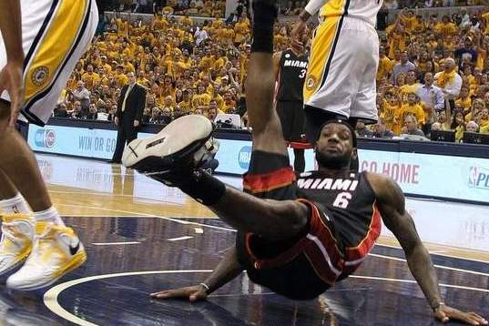 Miami Heat and LeBron James in Game 5: The Risks and Rewards of Flopping