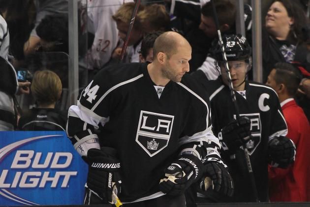 Kings Re-Sign D Regehr to Two-Year, $6 Million Extension