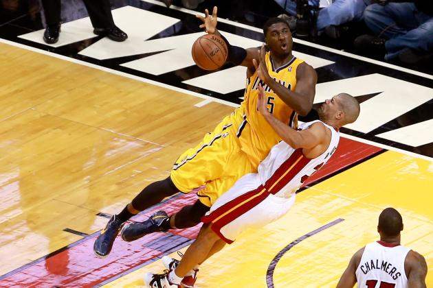 Roy Hibbert Right to Call out Shane Battier's Tactics in Heat vs Pacers Series