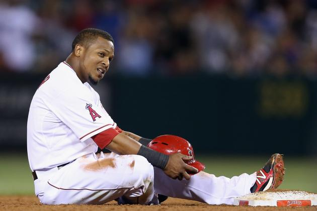 Aybar Leading Off, Callaspo out vs. Dodgers