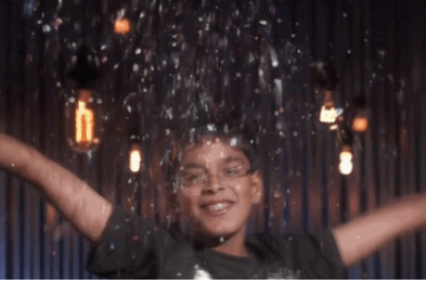 Spelling Bee Star Brings Heavy Swag with Glittery LeBron James 'Chalk Toss'