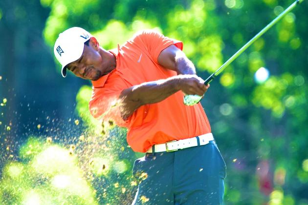 Tiger Woods at Memorial Tournament 2013: Day 1 Recap and Twitter Reaction