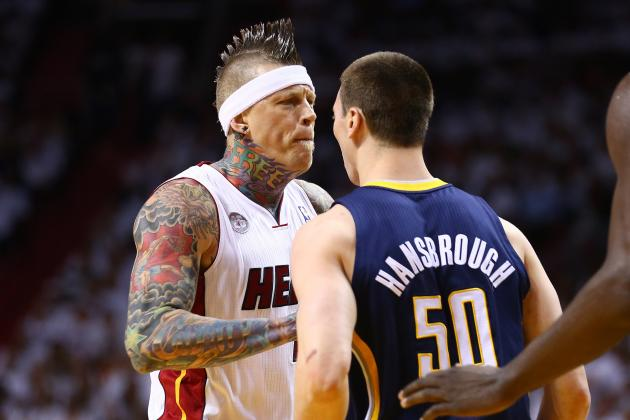 Tale of the Tape: Chris Andersen vs. Tyler Hansbrough