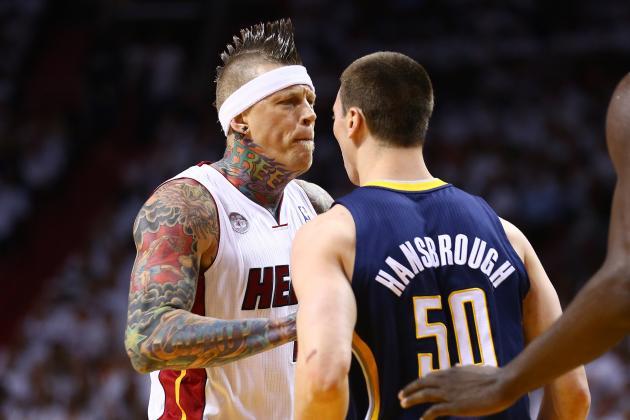 Tale of the Tape: Chris Andersen vs. Tyler Hansbrough