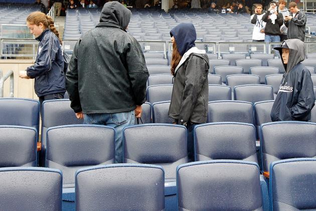 Yankees' Attendance Is Down Almost 3,000 Per Game
