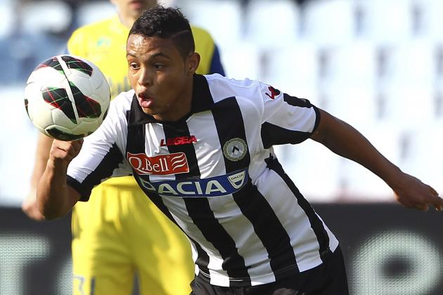 Liverpool Target Luis Muriel as Suarez Replacement
