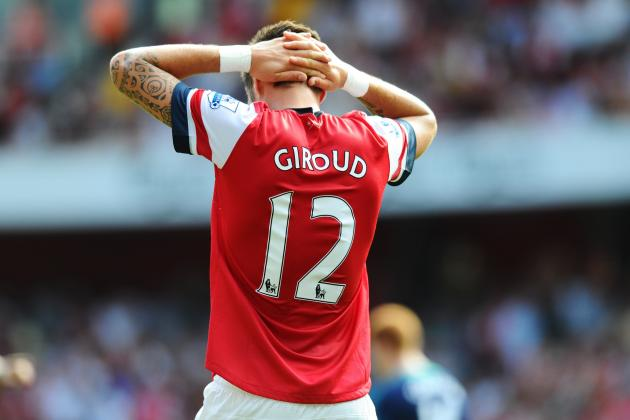 Arsenal Transfer News: Does Olivier Giroud Have a Future with the Gunners?