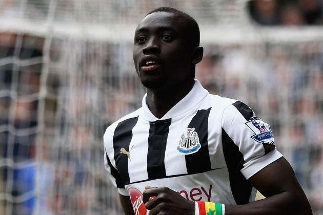 Newcastle Striker Papiss Cisse Has Attracted Russian Interest