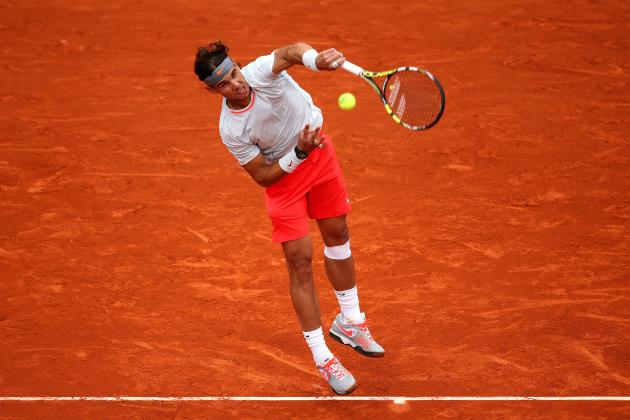 Rafael Nadal Defeats Martin Klizan to Advance at 2013 French Open