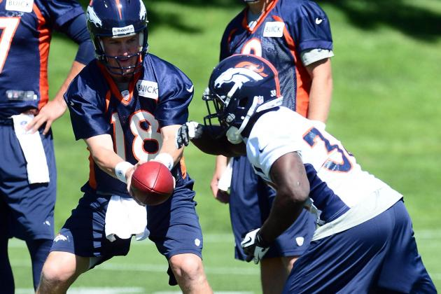 Montee Ball Getting Special Attention from Peyton Manning