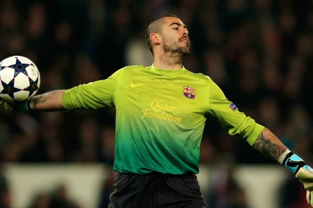 Victor Valdes Will Stay at Barcelona Until 2014