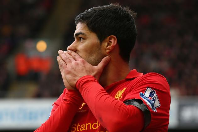 Suarez Not for Sale, Say Liverpool