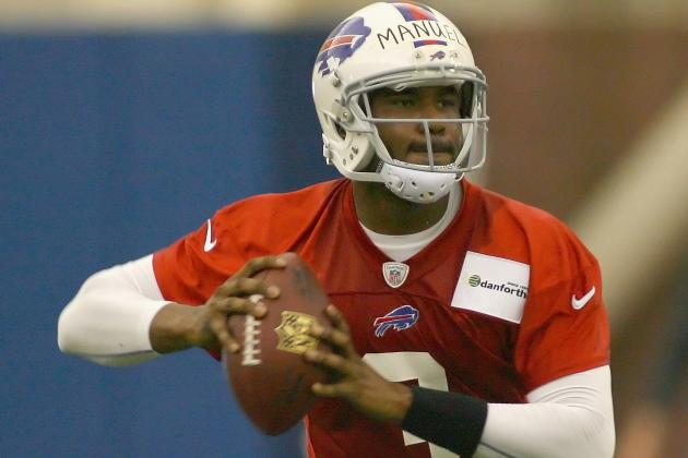 Doug Marrone: E.J. Manuel Is Ahead of Any Rookie QB I've Seen