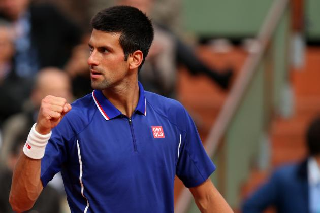 French Open 2013: Novak Djokovic in Shadows of Rafael Nadal and Roger Federer