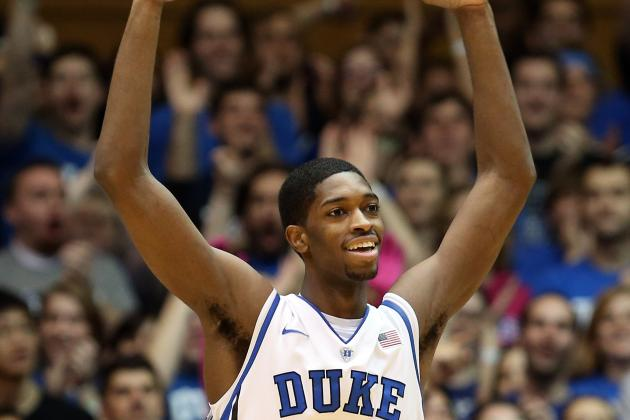 Amile Jefferson Puts on Weight to Help Fill Duke Basketball's Void in the Post