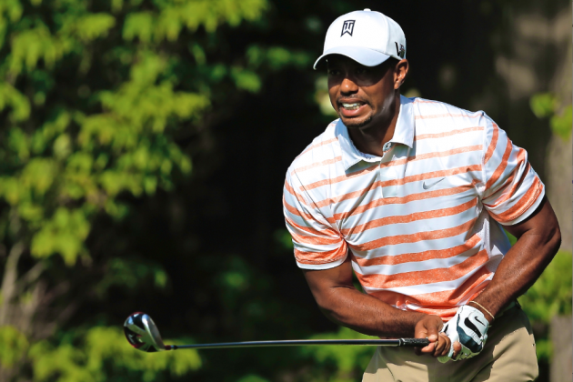 Tiger Woods at Memorial Tournament 2013: Day 2 Recap and Twitter Reaction
