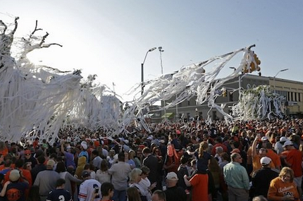 Auburn Tests out New Rolling Plan Now That Toomer's Trees Are Gone