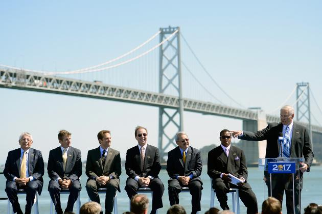 Bill Provides Small Step Toward New Warriors Arena in San Francisco