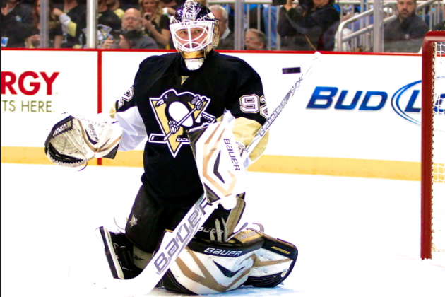 NHL Playoffs 2013: Is Tomas Vokoun Making Marc-Andre Fleury Expendable?