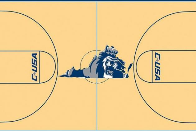 PHOTO: Old Dominion Goes Simple with Its New Court Design
