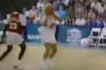 1988 Footage: Singer Kenny Rogers Fools Michael Jordan