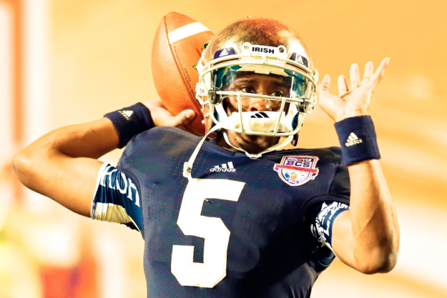 Can There Really Be a Happy-Ending Redemption for Notre Dame's Everett Golson?