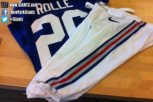 VIEW: Giants New Alternate White Pants