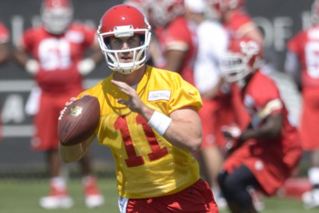 Smith Talks Junior Hemingway, Chiefs' Offense