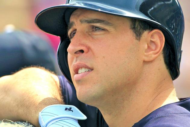 Mark Teixeira Returns to Yankees for First Time Since Wrist Injury