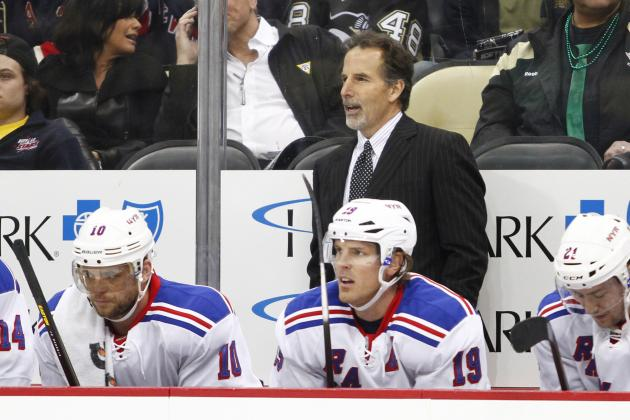 Reports: Rangers Players Pushed for Tortorella's Dismissal