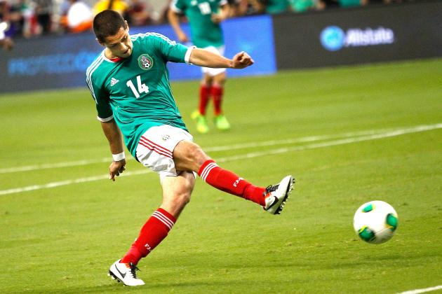 Mexico 2-2 Nigeria: As It Happened
