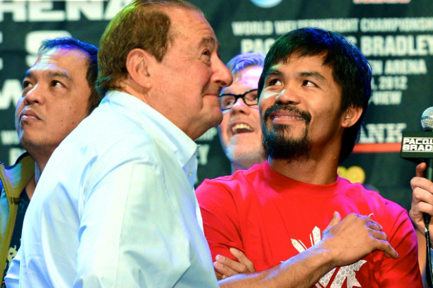 Manny Pacquiao's Manager Claims He May Never Fight in U.S. Again