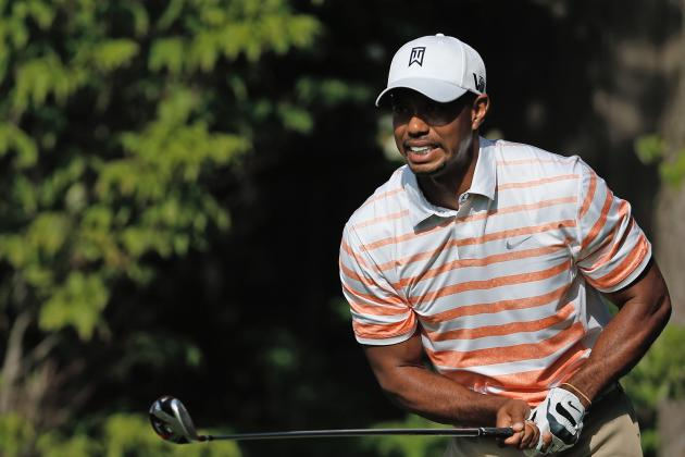 Tiger Woods Shows He's Human After All with Awful Round at Memorial 2013