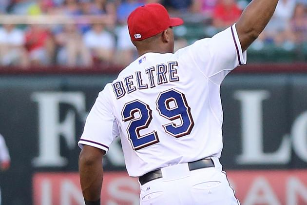 Foul Territory: Adrian Beltre Exits with Tightness in Left Hamstring
