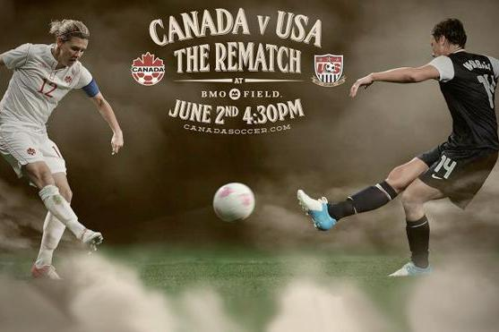 Women's Soccer Rematch Between Canada and US to Be Held at BMO Field